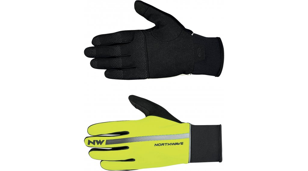 Northwave Dynamic Full guanti dita-lunghe mis. L yellow fluo/black