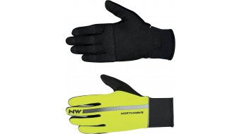 Northwave Dynamic Full gloves long yellow fluo/black