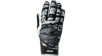 Ninjaz Tiger MTB gloves long black/white/grey