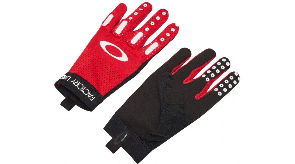 Oakley Factory Lite 2.0 Handschuhe lang Herren Gr. M high risk red