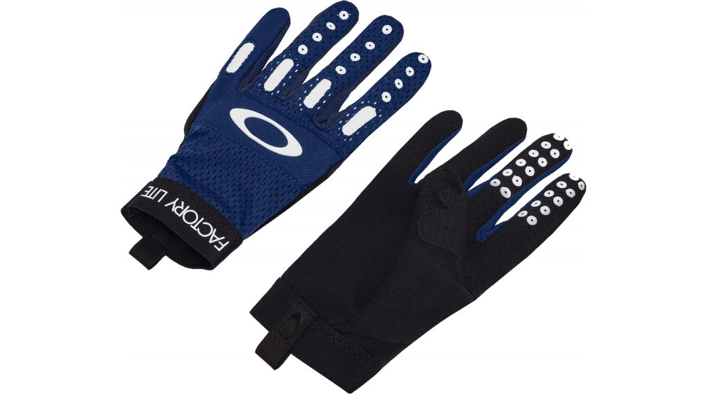 Oakley Factory Lite 2.0 Handschuhe lang Herren Gr. L black iris