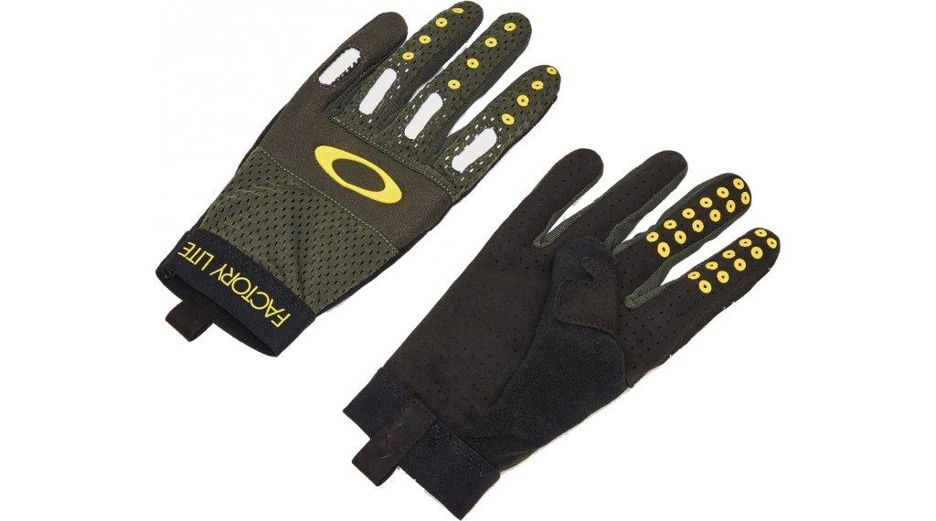 Oakley Factory Lite 2.0 Handschuhe lang Herren Gr. L new dark brush