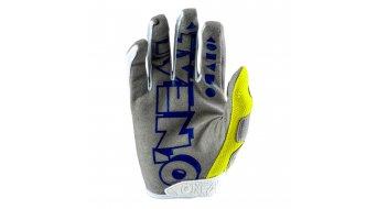 ONeal Mayhem Crackle 91 Handschuhe lang Herren Gr. XL (10.0) yellow/white/blue