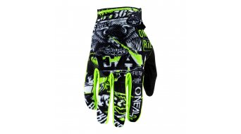 ONeal Matrix Attack Handschuhe Kinder lang black/neon yellow