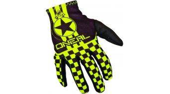 ONeal Matrix Wingman guantes largo(-a) niños-guantes negro(-a)/color neón amarillo(-a) Mod. 2017