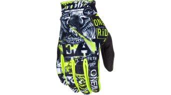 ONeal Matrix Attack MTB-guantes largo(-a) color neón amarillo Mod. 2018