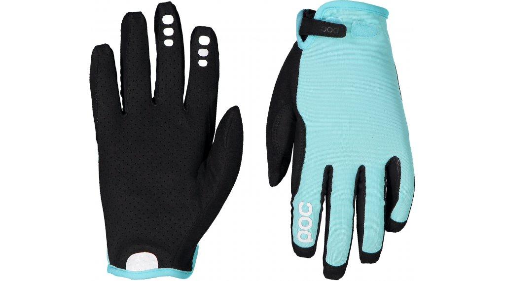 POC Resistance Enduro Adjustable MTB Handschuhe lang Gr. S light kalkopyrit blue
