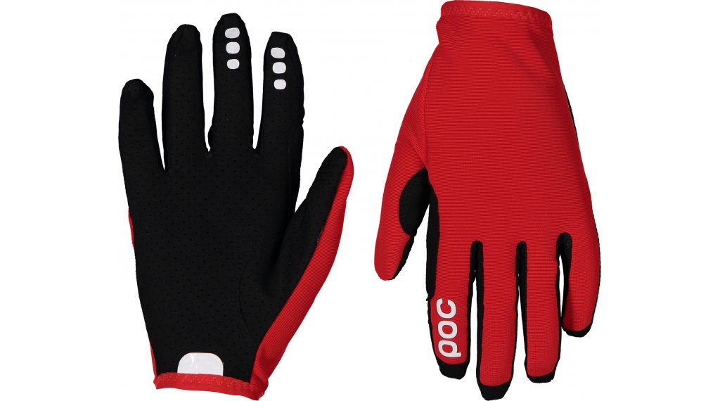 POC Resistance Enduro guantes largo(-a) tamaño M prismane rojo