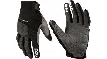POC Resistance Pro DH MTB Handschuhe lang uranium black