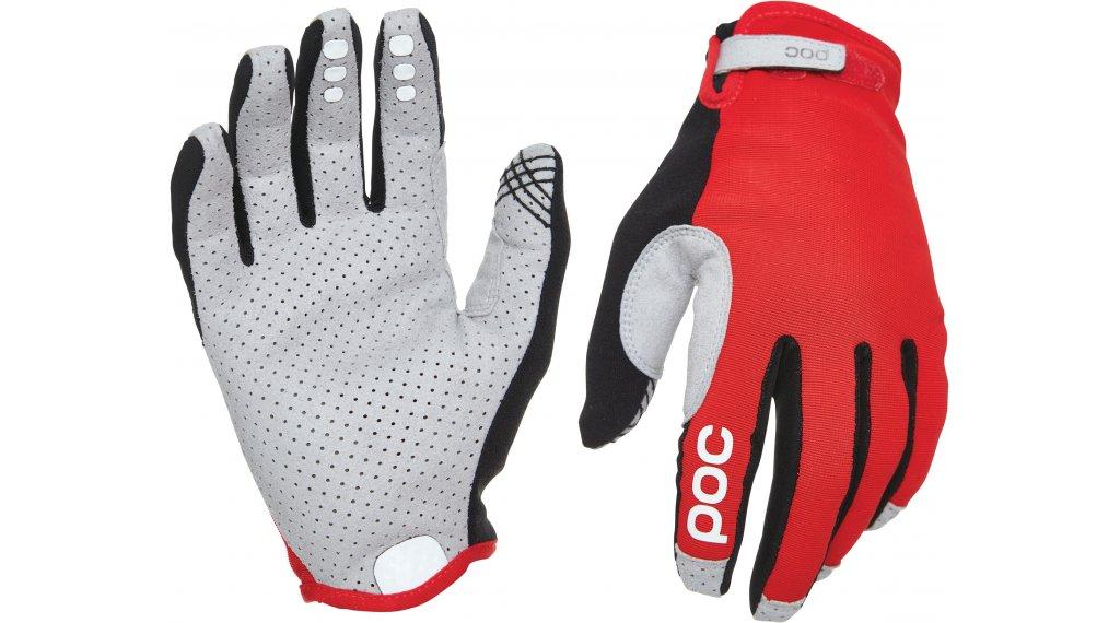 POC Resistance Enduro Adjustable MTB Handschuhe lang Gr. S prismane red