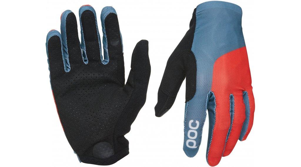 POC Essential Mesh Handschuhe lang Gr. S cubane blue/prismane red