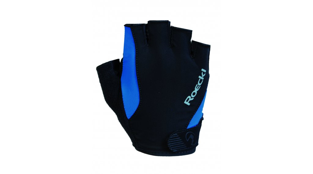 Roeckl Basel Performance Handschuhe kurz Herren Gr. 7.0 schwarz/blau