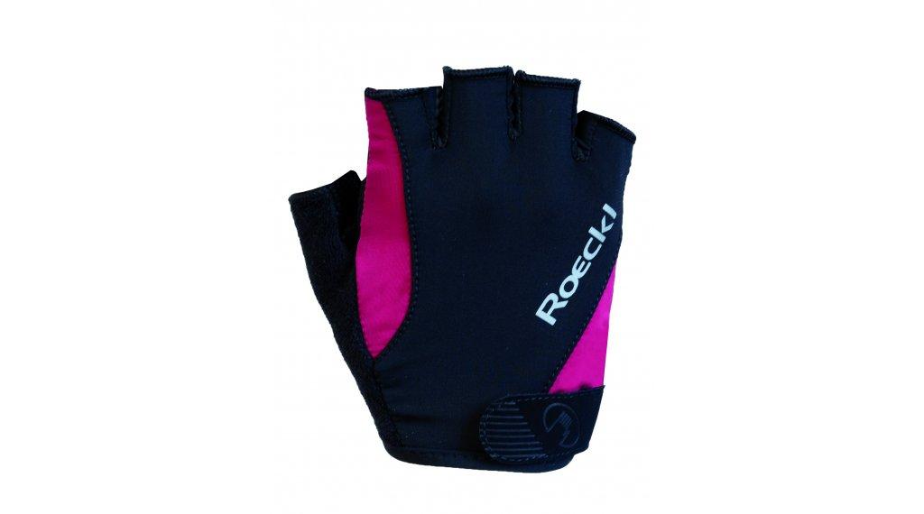 Roeckl Basel Performance Handschuhe kurz Herren Gr. 6.0 schwarz/himbeere