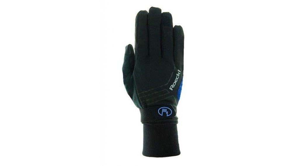 Roeckl Raab Top Funktion Wind Handschuhe Herren lang Gr. 7.0 black/blue