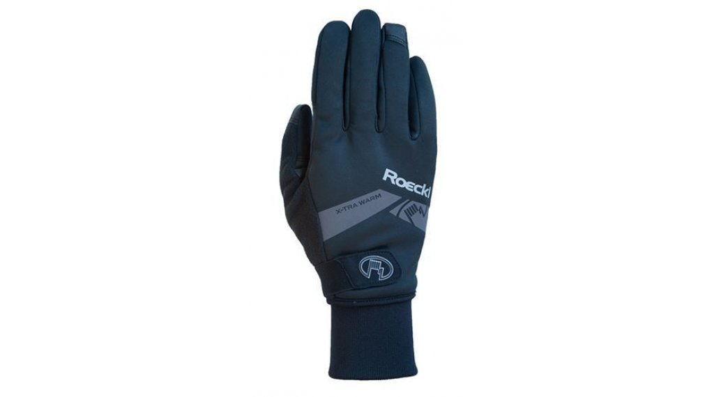 Roeckl Villach extra warm Handschuhe lang Herren Gr. 6.0 black