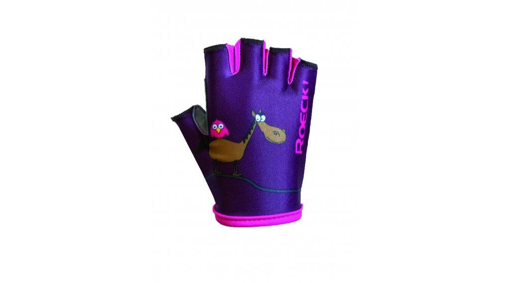 Roeckl Toro Handschuhe kurz Kinder Gr. 3.0 weinbeere