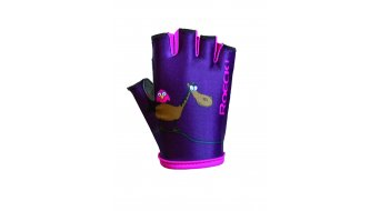 Roeckl Toro guanti dita-corte bambini . weinbeere