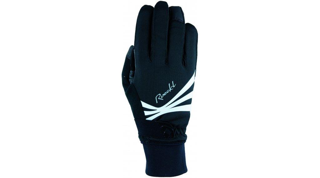 Roeckl Wilora Handschuhe lang Damen Gr. 6.0 black/white