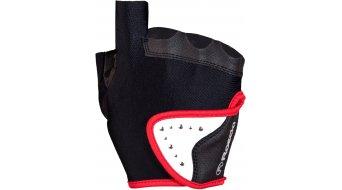 Roeckl Lady Line Diesentis Handschuhe Kurz Damen-Handschuhe Gr. 7,5 schwarz/rot - Ausstellungsstück