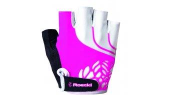 Roeckl Dossena Handschuhe kurz Damen-Handschuhe Gr. 7.5 pink - Ausstellungsstück