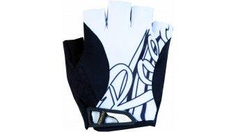 Roeckl Dalena Handschuhe kurz Damen-Handschuhe Gr. 6 weiß/schwarz - Ausstellungsstück