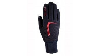 Roeckl Rosario Jr. guantes niños-guantes negro/rojo