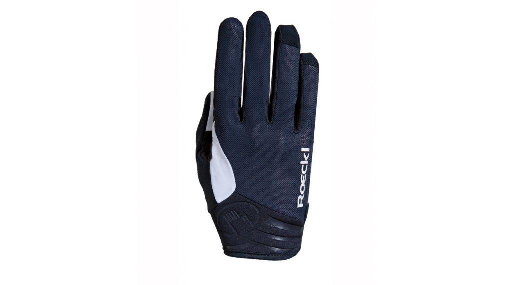 Roeckl Mileo Handschuhe lang Herren Gr. 6.0 schwarz/weiß