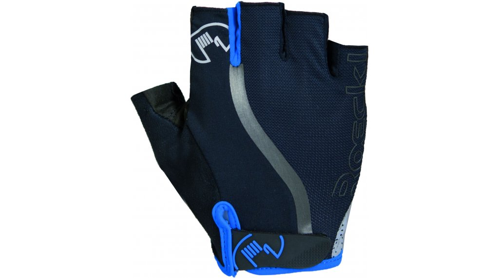 Roeckl Ivica Top Funktion Handschuhe kurz Gr. 7,5 schwarz/blau