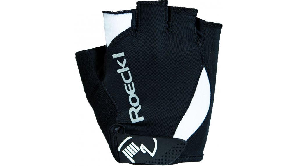 Roeckl Baku Performance Handschuhe kurz Gr. 7 schwarz/weiß