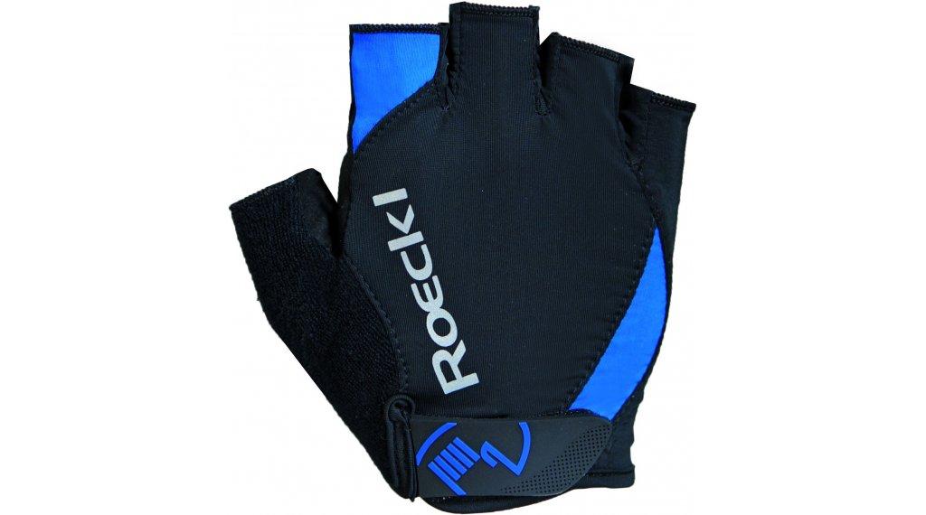 Roeckl Baku Performance Handschuhe kurz Gr. 7 schwarz/blau