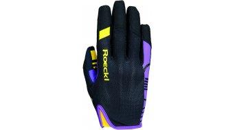 Roeckl Mango Jr. Handschuhe lang Kinder-Handschuhe schwarz/purple