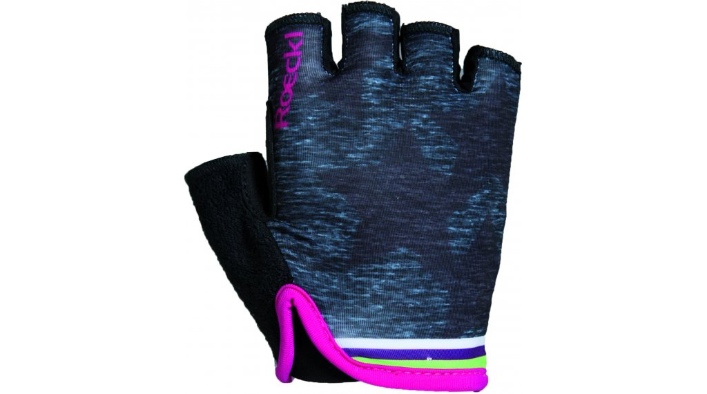 Roeckl Tivoli Handschuhe kurz Kinder-Handschuhe Gr. 5 schwarz