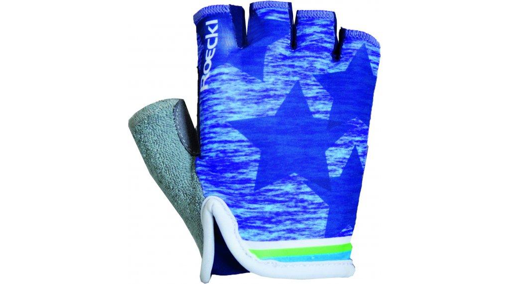 Roeckl Tivoli Handschuhe kurz Kinder-Handschuhe Gr. 5 indigo