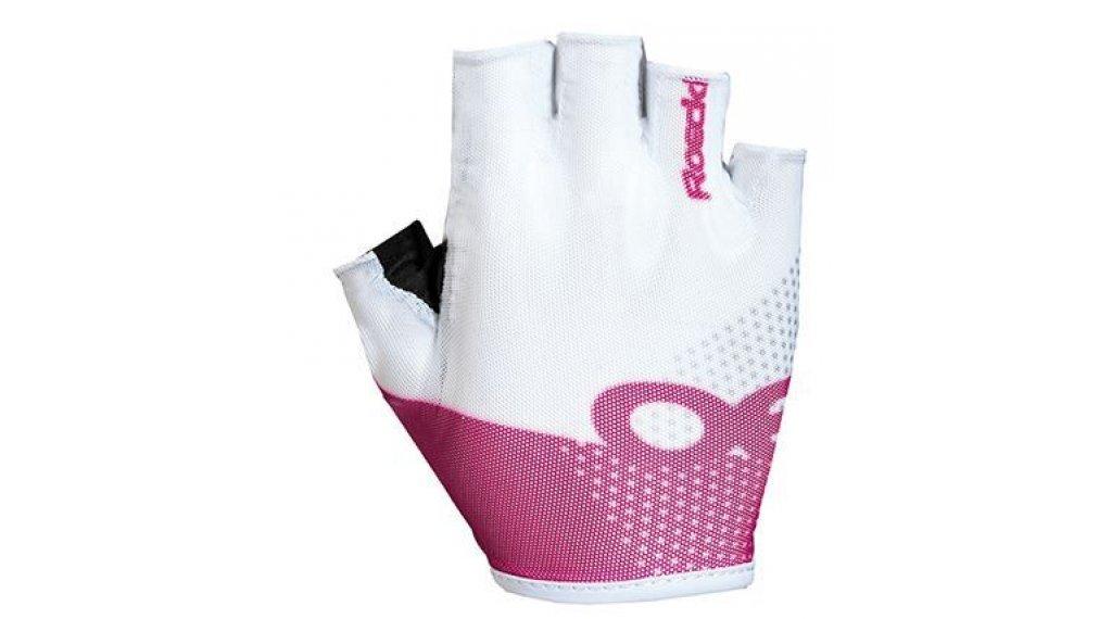 Roeckl Idro Top Funktion Handschuhe kurz Gr. 6,5 weiß/pink