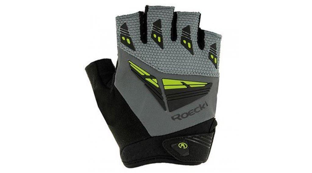 Roeckl Iron Top Function guanti dita-corte da uomo mis. 7.5 grigio