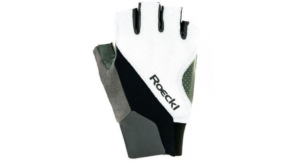 Roeckl Ivory Top Function 手套 短 型号 9,5 白色/黑色