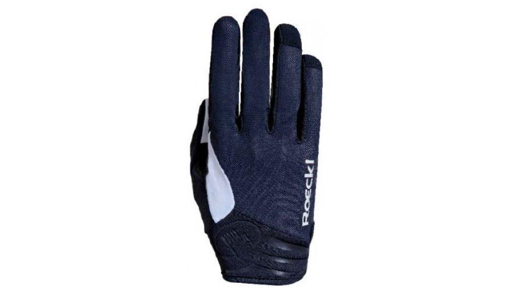 Roeckl Mileo Handschuhe lang Herren Gr. 11.5 schwarz/weiß