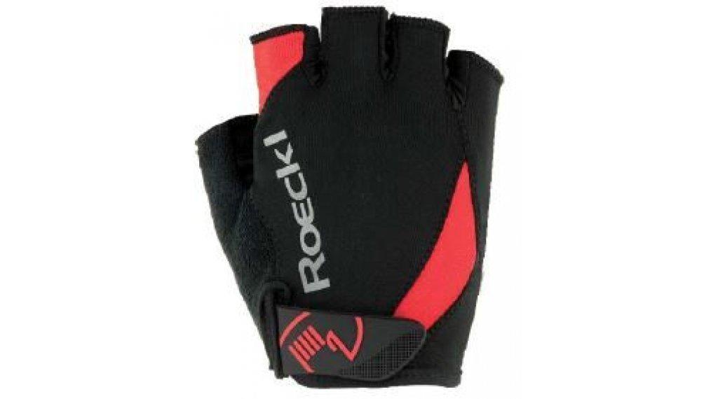 Roeckl Baku Performance Handschuhe Kurz Gr. 6,0 schwarz/rot