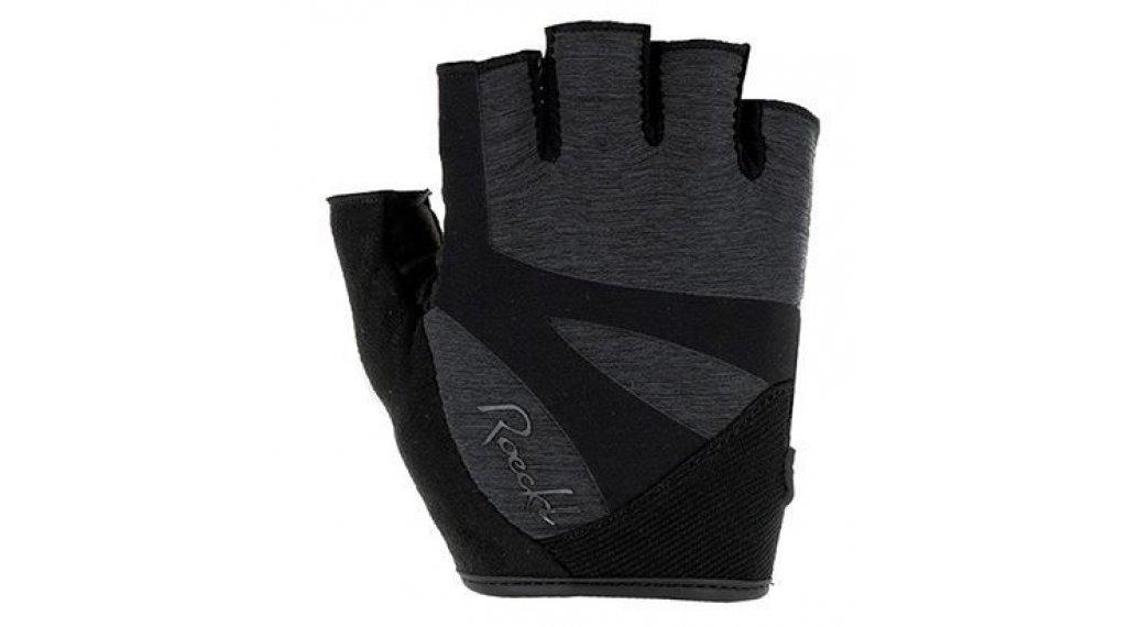 Roeckl Dora Handschuhe kurz Damen Gr. 6.0 anthrazit melange
