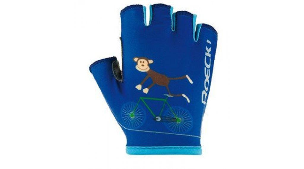 Roeckl Toro Kinder-Handschuhe Kurz Gr. 3,0 monaco blau