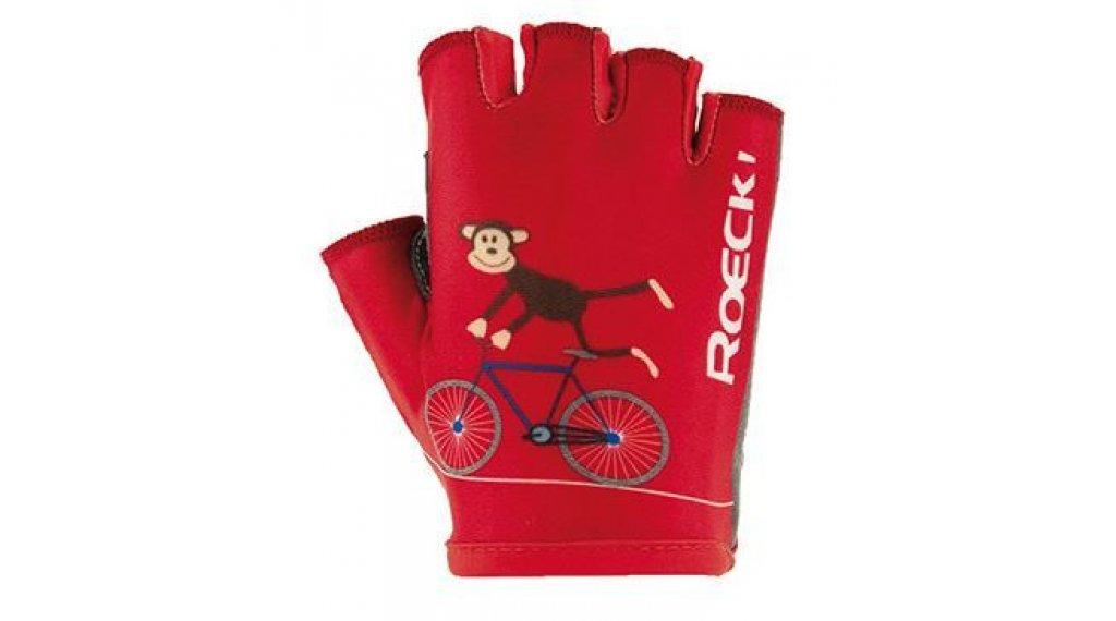 Roeckl Toro Kinder-Handschuhe Kurz Gr. 4,0 rot