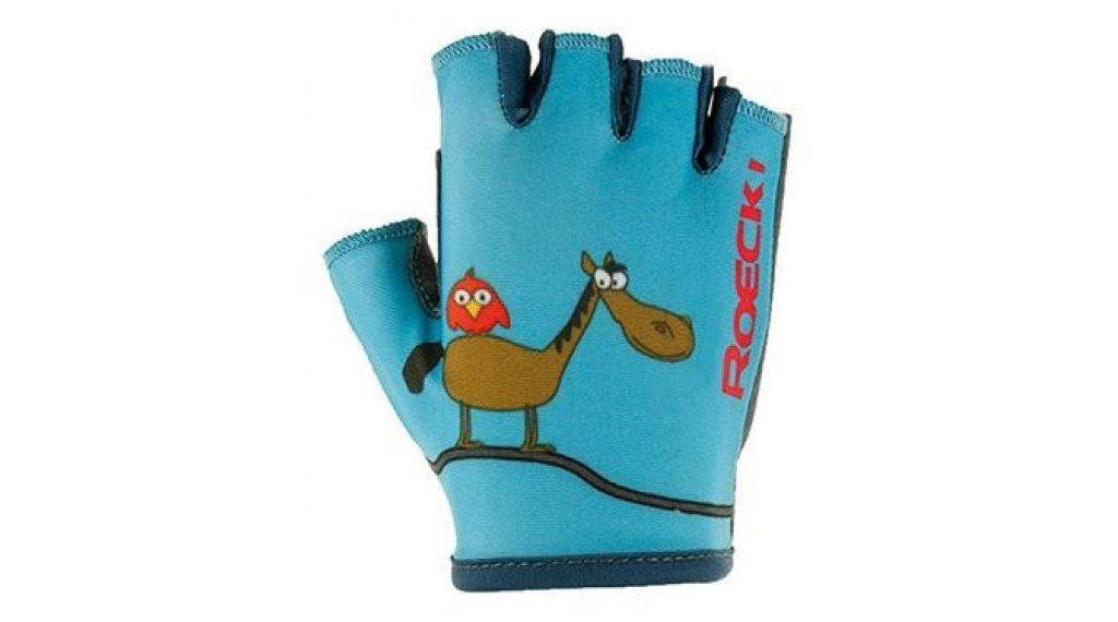 Roeckl Toro Kinder-Handschuhe Kurz Gr. 4,0 türkis
