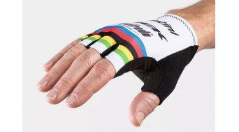 Santini Trek-Segafredo Team World Champion handschoenen kort maat. S white
