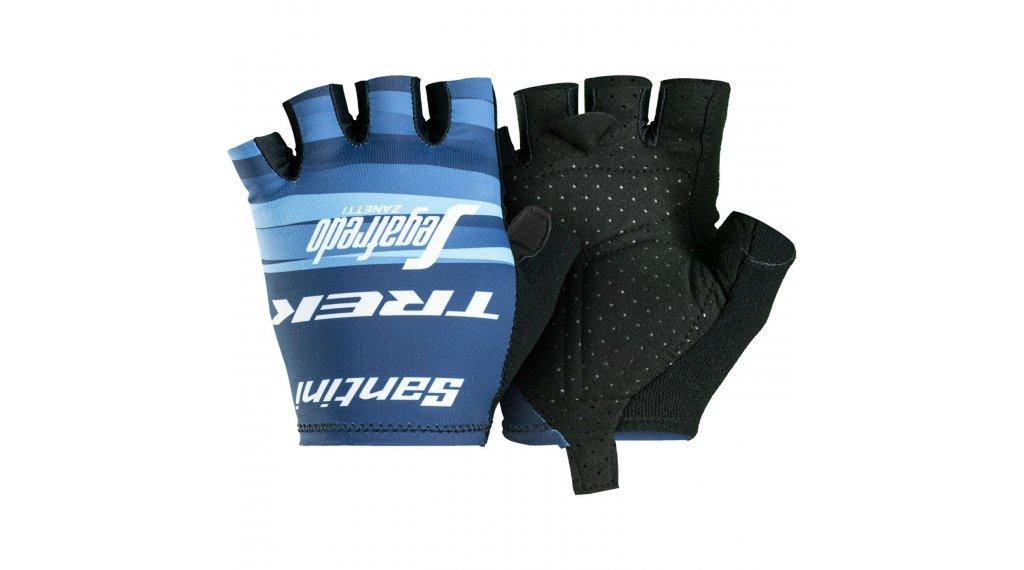 Santini Trek-Segafredo Team Handschuhe kurz Damen Gr. S dark blue