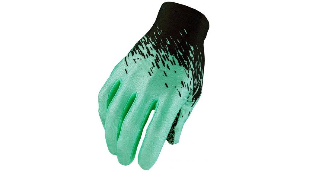 Supacaz SupaG Splash Handschuhe lang Gr. L black/celeste