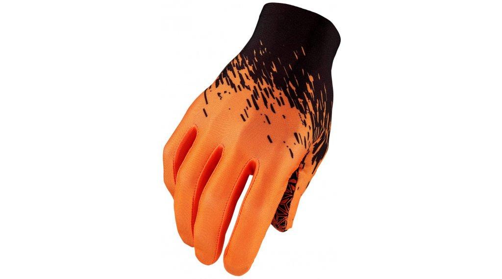 Supacaz SupaG Splash Handschuhe lang Gr. L black/neon orange