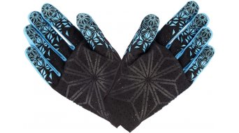Supacaz SupaG Splash Handschuhe lang Gr. M neon blue/black