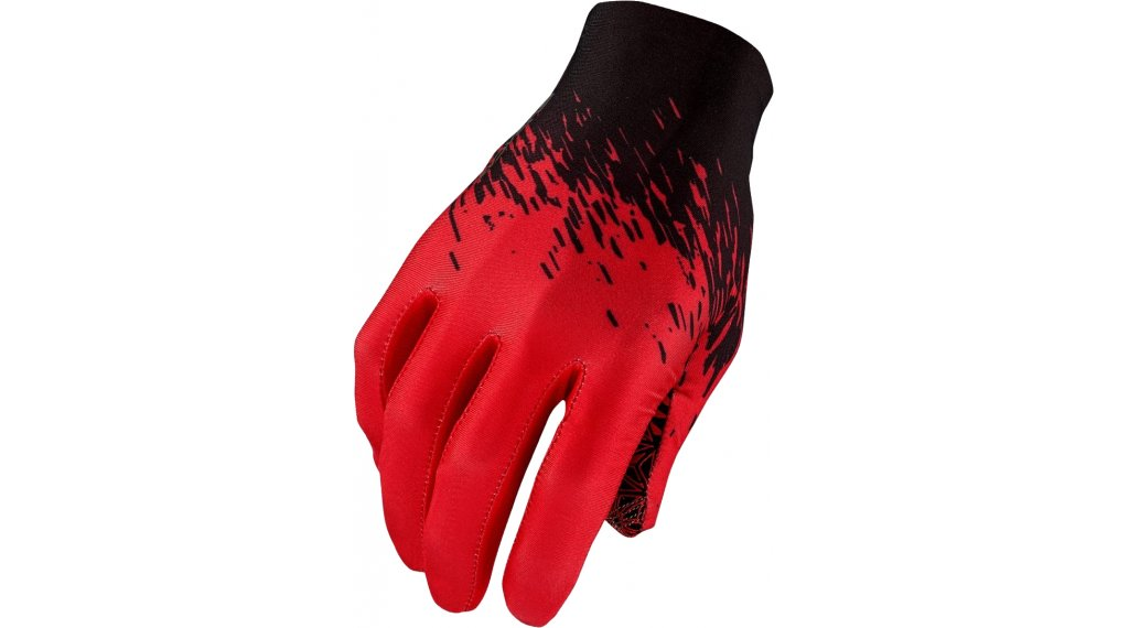 Supacaz SupaG Splash Handschuhe lang Gr. M black/red