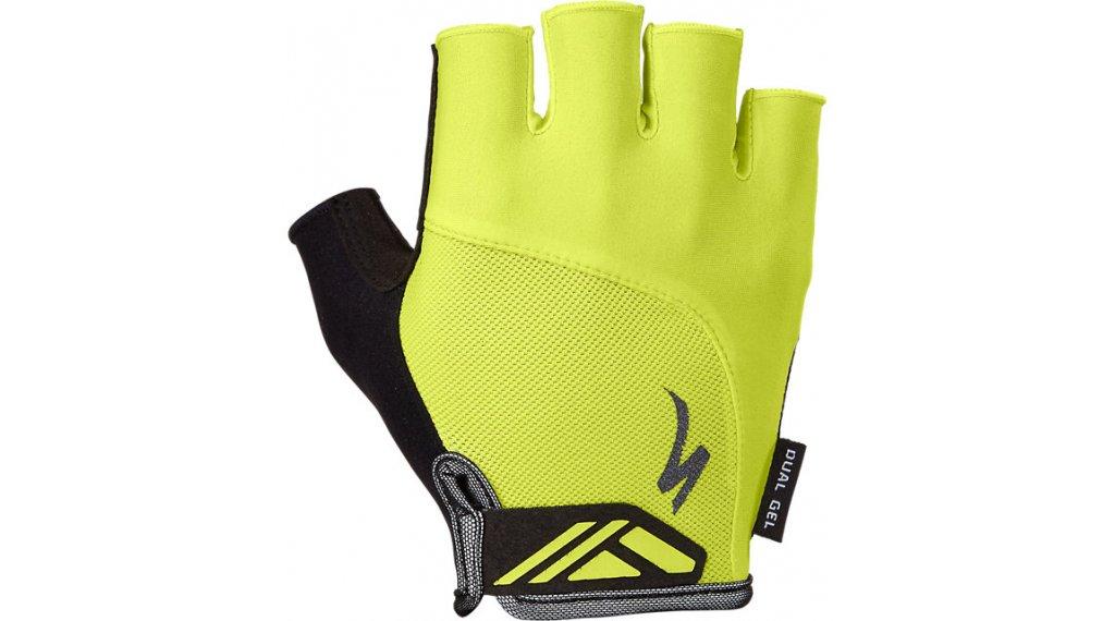 Specialized BG Dual-Gel Handschuhe kurz Gr. S hyper green