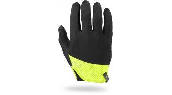 Specialized BG Trident guantes largo(-a) bici carretera-guantes negro/color neón amarillo Mod. 2017